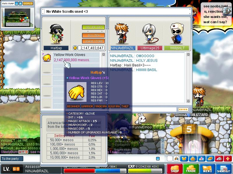 maplestory how to get work gloves