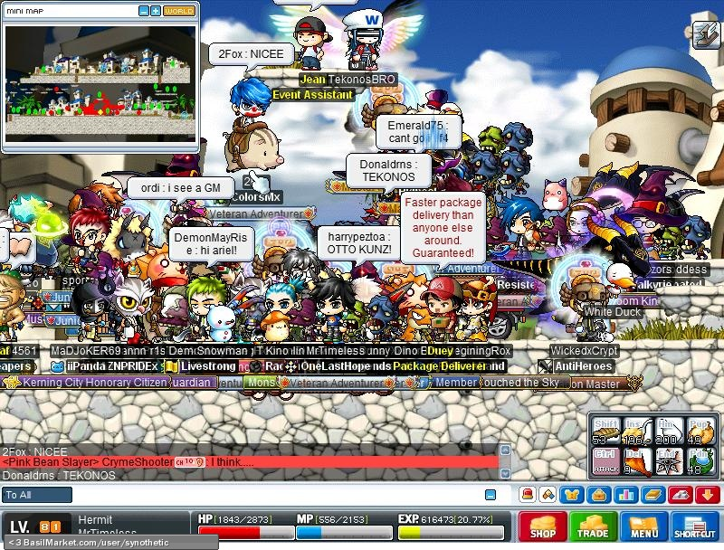 Maplestory lith harbor GM event