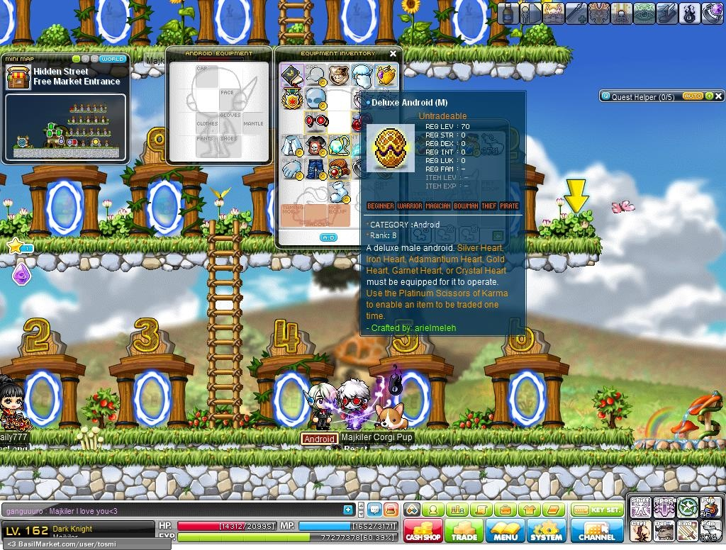deluxe android rh basilmarket com MapleStory Android Gear Maple for Android