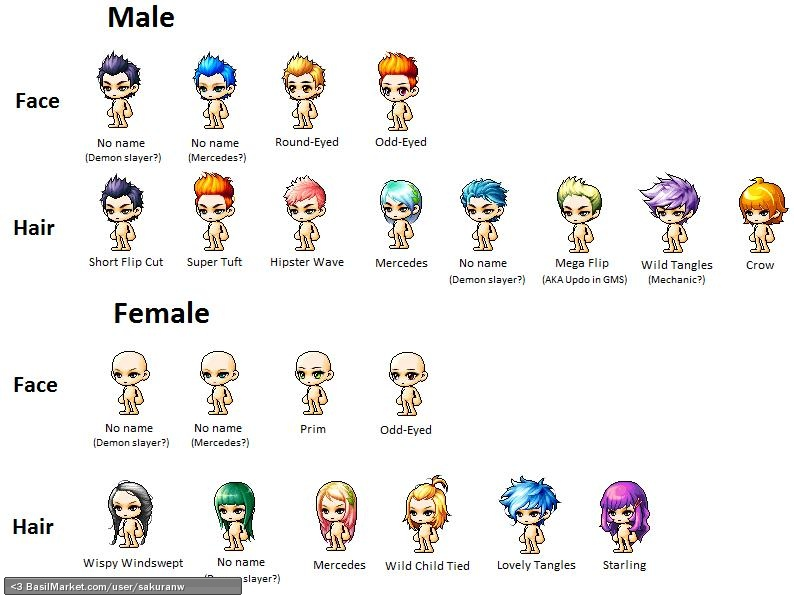 Maplestory Hairstyle List Life Style Modernstork
