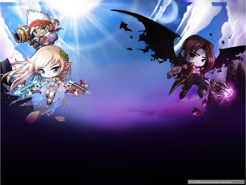 gallery for mercedes maplestory wallpaper
