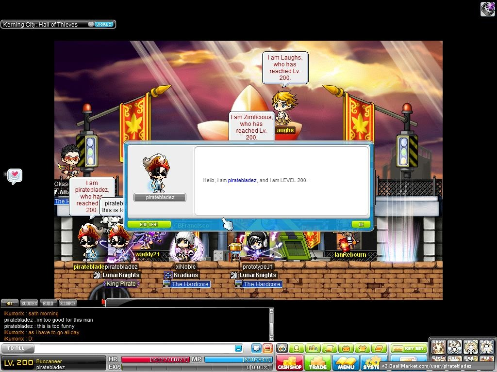 how to make nobless class maplestory