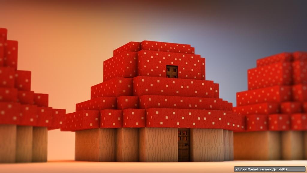 basilmarket maplestory minecraft mushroom house