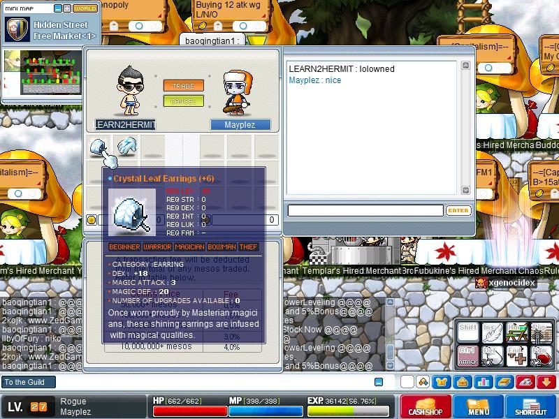 Dex 18 Crystal Leaf Earrings Screen