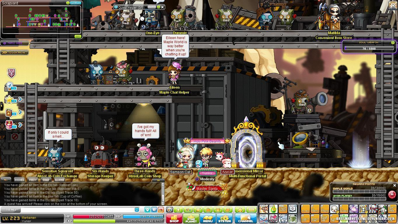 maplestory how to get to roids