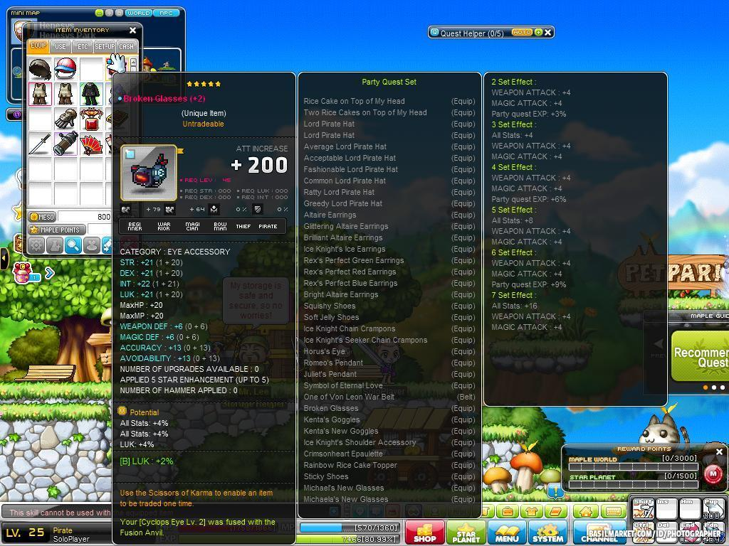 maplestory how to get shanghai totems