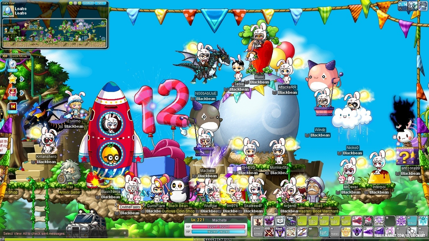 Update notes on v.154; SAO and Blaze Wizard - MapleStory ...