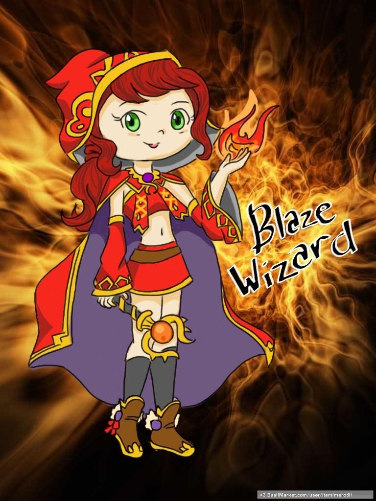basilmarket blaze wizard