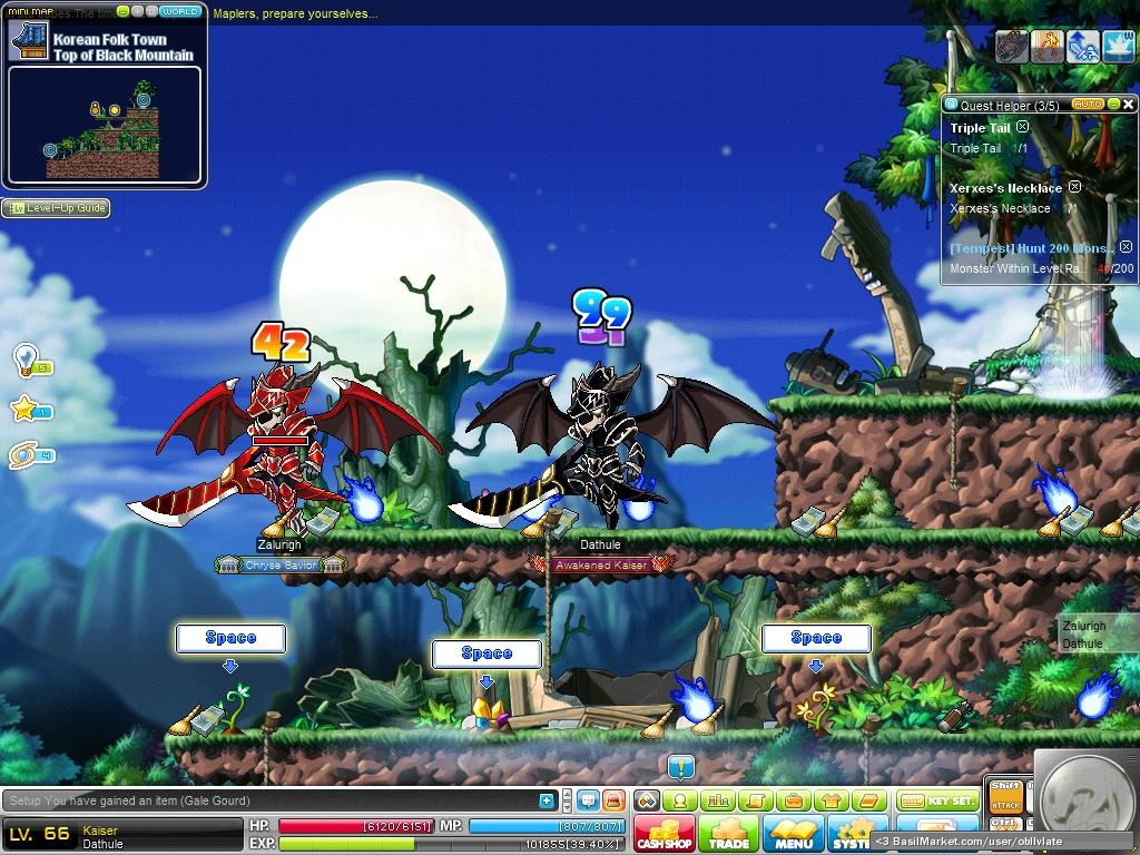basilmarket what kaiser is all about maplestory screen. Black Bedroom Furniture Sets. Home Design Ideas