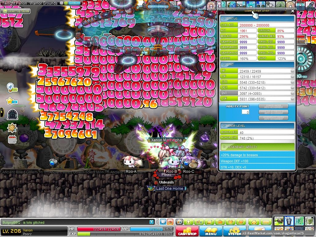 Maplestory xenon power leveling guide! Level 1-120~ youtube.