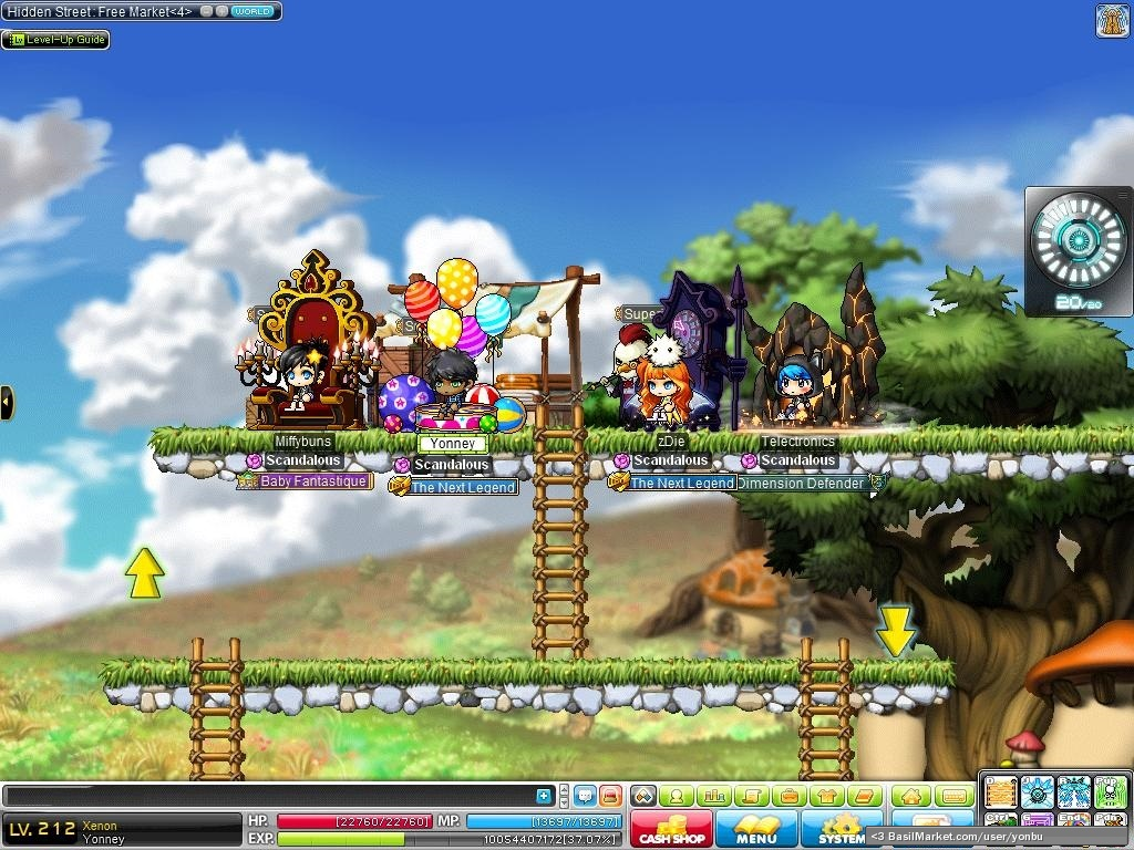 Maplestory] complete xenon guide youtube.