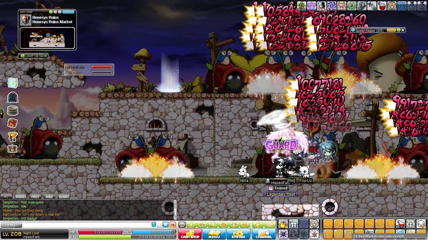 maplestory how to get to night market