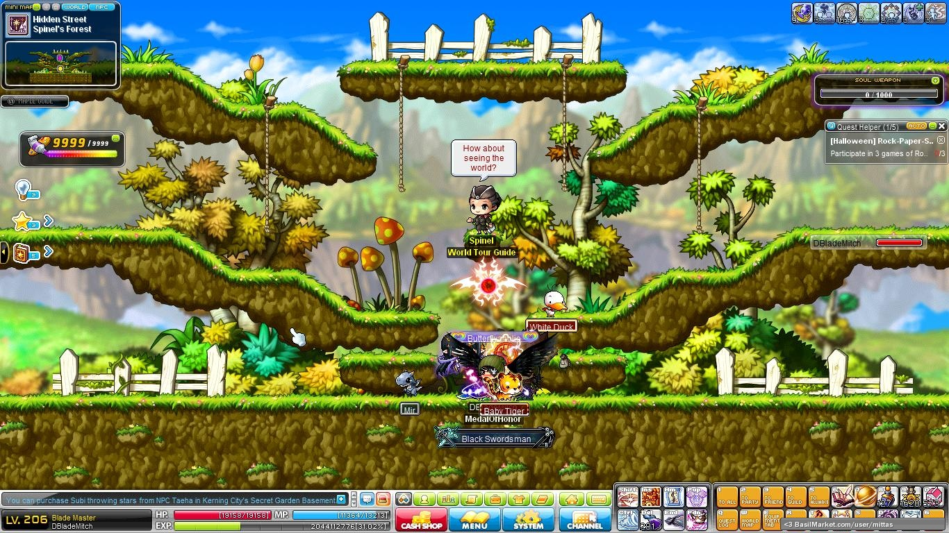 Forest Maplestory Spinel's Forest Maplestory