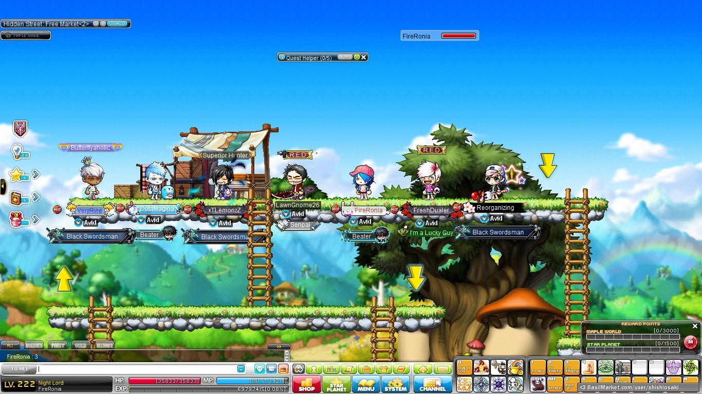 how to make a guild maplestory