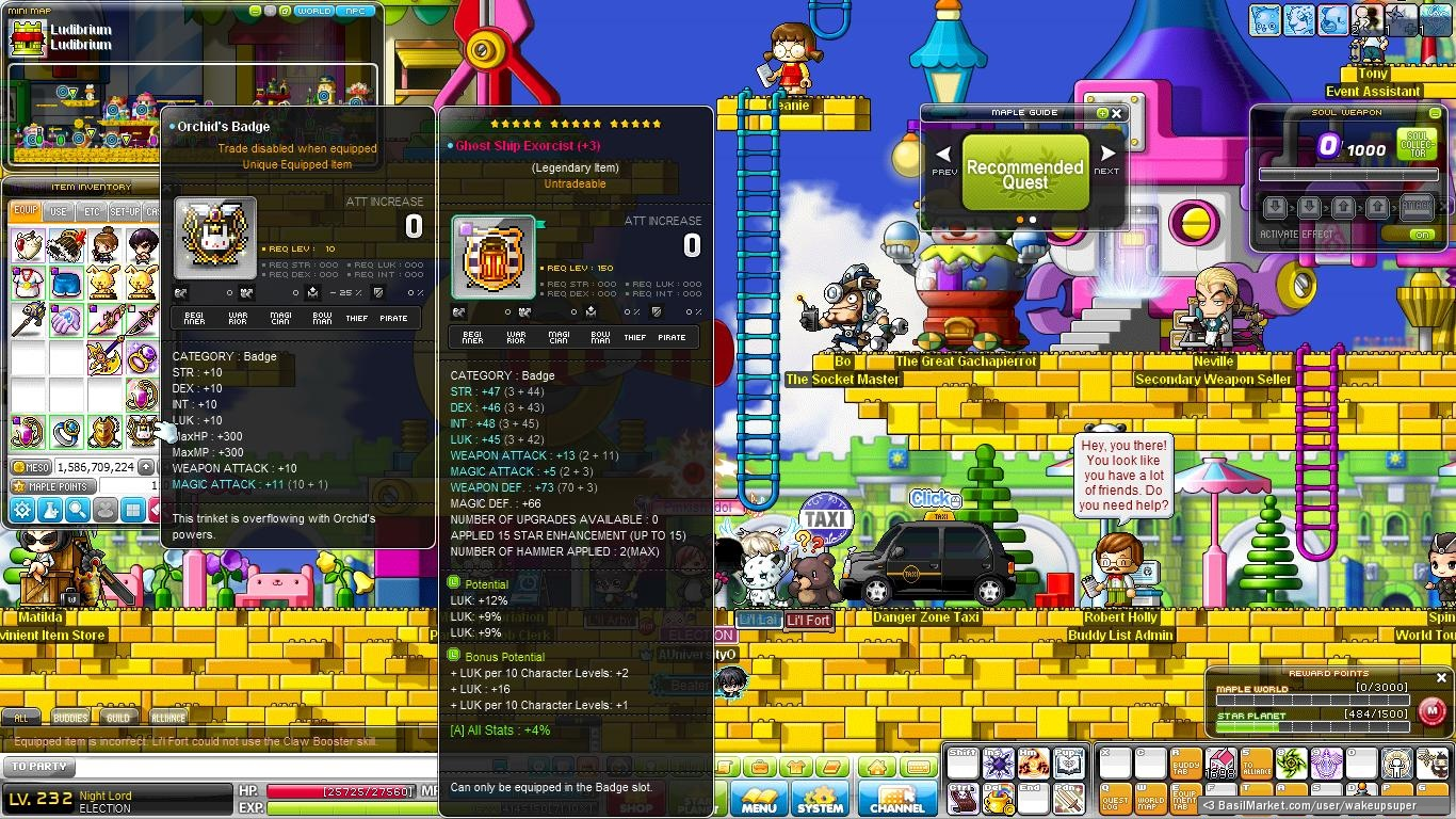 maplestory how to play blaster