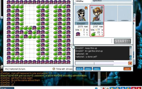 maplestory how to get omok table