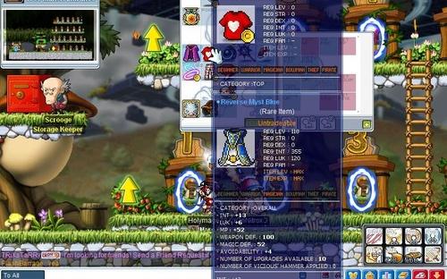 Maplestory Reboot New Leaf City
