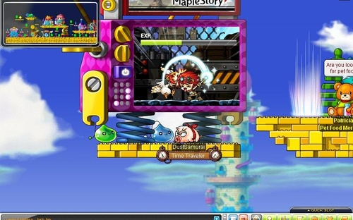 maplestory how to get to stumptown