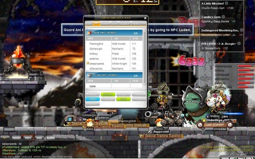 maplestory how to get to von leon