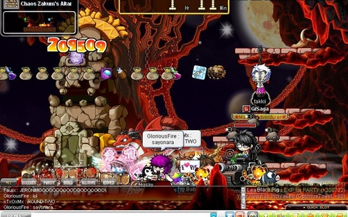how to set up a ursus run maplestory